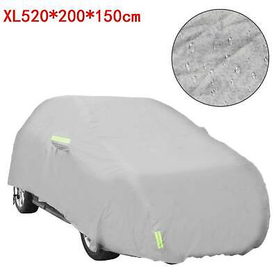 Waterproof Extra Large Full Car Cover Cotton Lining Breathable UV Protection XL
