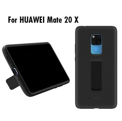Case Back Cover Stand Soft Silicone Official For Huawei Mate20X