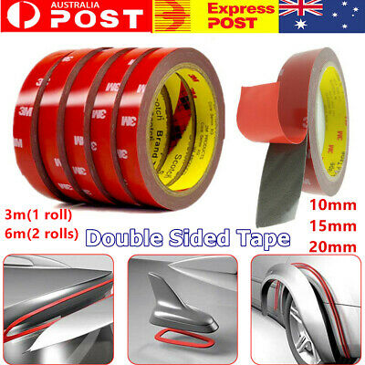 3M Car Auto Strong Permanent Double Sided Sticky Acrylic Foam Tape Adhesive Roll