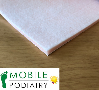 Hapla Chiropody Fleecy Foam Felt 5mm Sheet