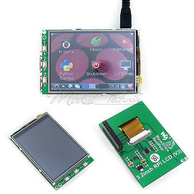 3.2 Inch Raspberry Pi TFT LCD Touch RGB Screen Display Monitor For B+ B PI2