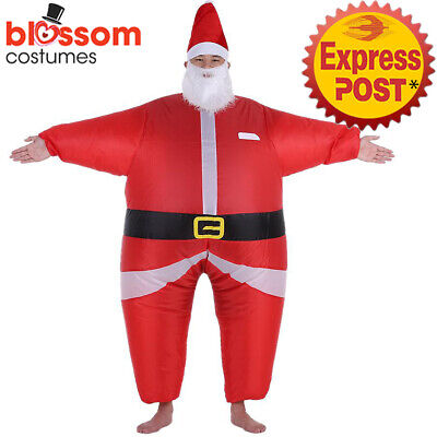 Christmas Fancy Dress Funny.K354 Inflatable Santa Claus Costume Suit Funny Christmas Xmas Fancy Dress Outfit