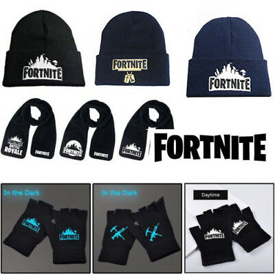 FORTNITE BATTLE ROYALE-SCARF-VIDEO-GAME-FORT-NITE-NIGHT XMAS GIFT SET 2019 hot
