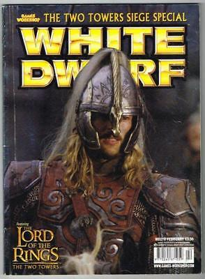 White Dwarf Magazine No.278 February MBox1100 The Two Towers Siege Special