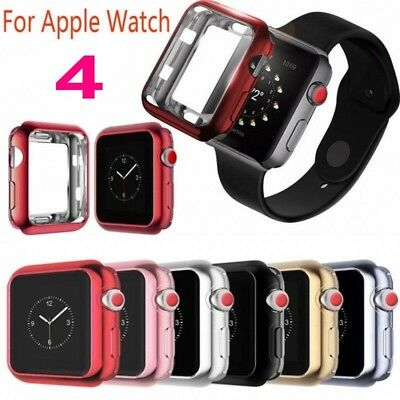 For Apple Watch Series 4 Full Protective TPU Bumper Case Cover iWatch 40/44mm DY