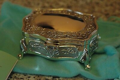 Small Job Lot Of Silver Plated Trinket Boxes 4 Styles - 22 Quality Items
