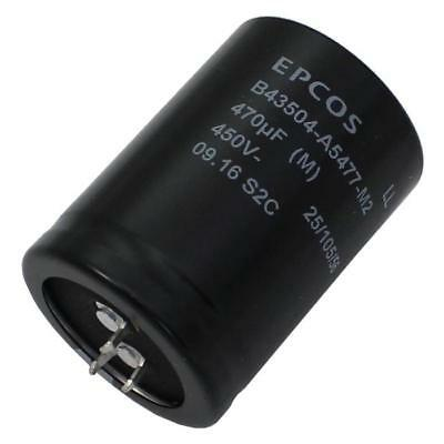 Snap-In Electrolytic Capacitor 470µF 450V 105°C ; B43504A5477M2S1 ; 470uF
