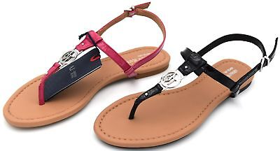 49e29a29c1dc Armani Jeans Woman Flip Flops Sandals Shoes Casual Free Time Leather Code  C5587