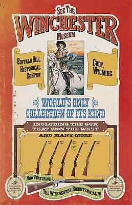 Winchester Museum At Buffalo Bill Historical Center Advertising Poster