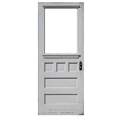 "Reclaimed 32"" Farmhouse Door, C. 1910, NED918"
