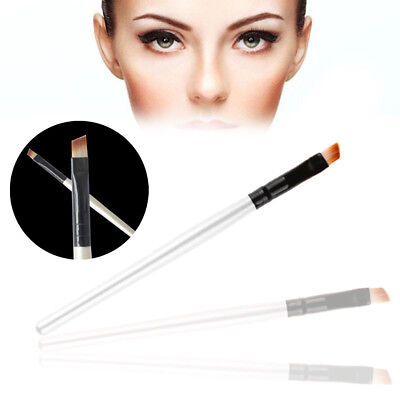 2x Professional Elite Angled Eyebrow Brush Nice Eye Liner Brow Makeup Tool Good