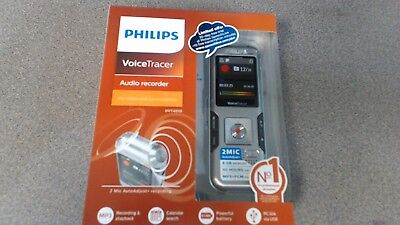 Philips VoiceTracer Digital Audio Recorder Notes and Conversations DVT4010 8GB