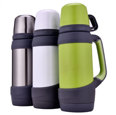 Stainless Steel Vacuum Flasks Thermoses 0.8L 1L Big Size Outdoor Cup Bottle Gift