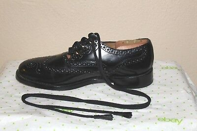 Thistle Brand Scottish Highland Ghillie Brogue Kilt Shoes Size 8 See Measurement