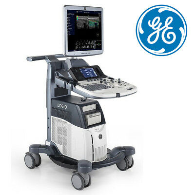"XDClear GE Ultrasound Logiq S7 System Machine 23"" LCD DICOM CrossXBeam B-Flow"