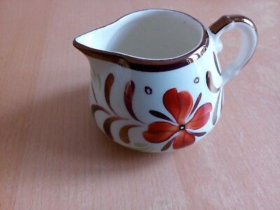 Vintage Gray's Pottery Small Hand Decorated Lustre Jug in very good condition