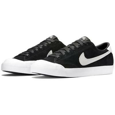 the best attitude 392a9 2a13b NEW Nike Zoom All Court CK QS Mens Size 11.5 Black White Skateboarding Shoes