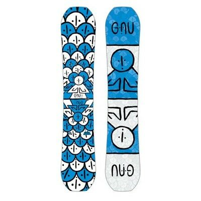 Gnu Snowboard - Head Space Asym - Forest Bailey, Camber, Twin - 2019