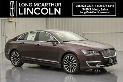 2018 Lincoln MKZ/Zephyr BLACK LABEL VINEYARD THEME 3.0 V6 AWD SEDAN MSRP $63585 ALCANTARA HEADLINER VENTIAN LEATHER TRIMMED SEATS AUDIO REVEL ULTIMA SYSTEM