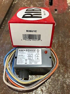 Functional Devices RIBU1C RIB 10A SPDT 10-30 VAC/DC/120 VAC Enclosed Relay