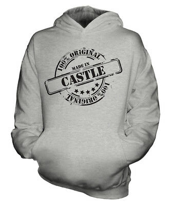 Made In Castle Unisex Kids Hoodie Boys Girls Children Toddler Gift Christmas