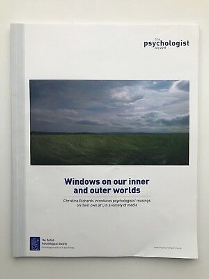 The Psychologist - WINDOWS ON OUR INNER AND OUTER WORLDS - July 2018