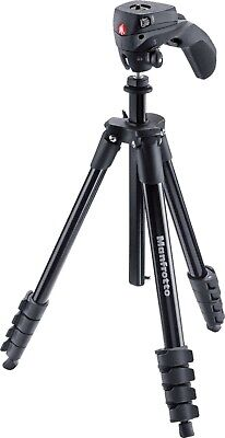 Manfrotto Compact Action Smart Tripod with Joystick Head and SmartPhone Clamp BP