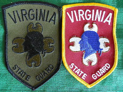 Virginia State  Guard Obsolete Patches