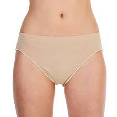 SILKY GIRLS DANCE Seamless High Cut Briefs Underwear Pants Knickers Nude Flesh