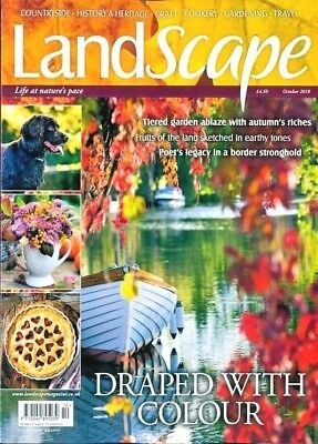 Landscape Magazine October 2018 ~ New With Free Fast P&p ~