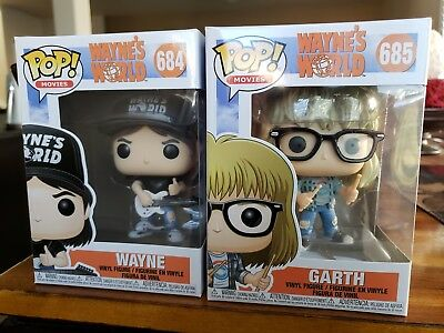 Funko Pop! Movies Wayne's World Set Of Two Pop Figures (In Stock)