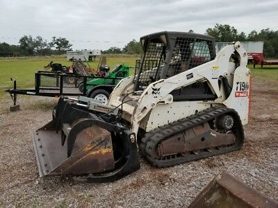2011 Bobcat T190 Skid Steer Loader On Tracks, Diesel, Selectable Joystick, Great