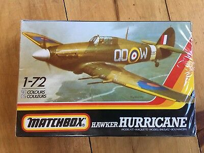 Matchbox 1:72 Scale Hawker Hurricane complete in sealed box