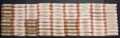 2010 11 12 13 14 15 16  17 18 P&D Lincoln Shield Cent Penny Rolls BU OBW US Coin
