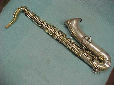 Antique York & Sons Tenor Saxophone in Very Good Ready to Play.