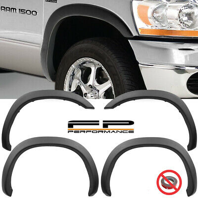 WICKED Factory OE Style Fender Flares For 02-08 Dodge Ram 1500 03-09 2500 3500