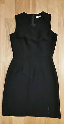 0b051f90acf64 Women s Ibex Dark Blue VNeck Sleeveless Dress Size 38 XS