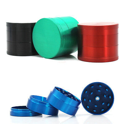 4 Layer Zinc Alloy Herbal Herb Tobacco Grinder Smoke Spice Crusher Hand Muller