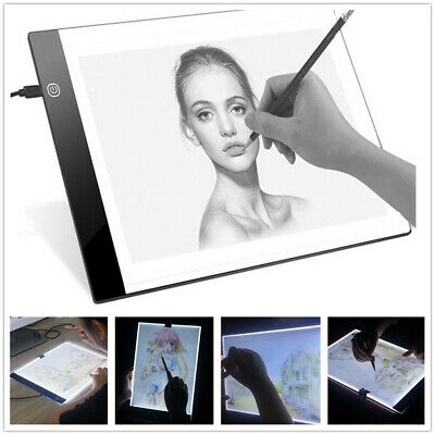 A4 LED Light Graphic Tablet for Drawing Board Panel Luminous Stencil Tracing Pad