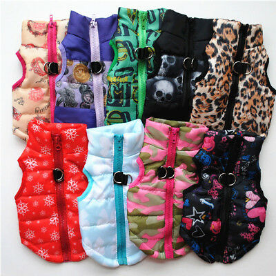 Dog Cat Coat Jacket Pet Supplies Clothes Winter Apparel Clothing Puppy Costume G