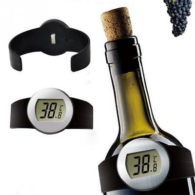 Temperature Meter Red Wine Bottle Thermometer Wine Tools Bottle Thermometer 1Pcs