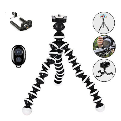 Portable Octopus Flexible Tripod Stand Selfie Holder for Cell Phone Canon Camera