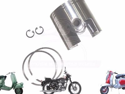 LAMBRETTA GP LI SX TV 200CC PISTON KIT 67.00 mm WITH 2 X 1.5 RINGS  @AU