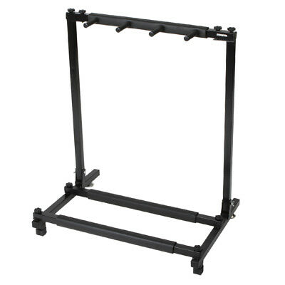 Guitar Stand 3 Holder Folding Stand Rack Band Stage Bass Acoustic Guitar