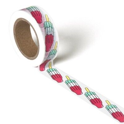 Washi Tape Popsicle By Smarty Pants Paper Co 15Mm X 10Mtr Planner Craft Mail Art