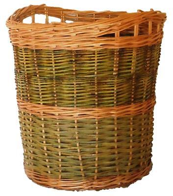 Make this willow Log Basket: a weaving kit for Beginners