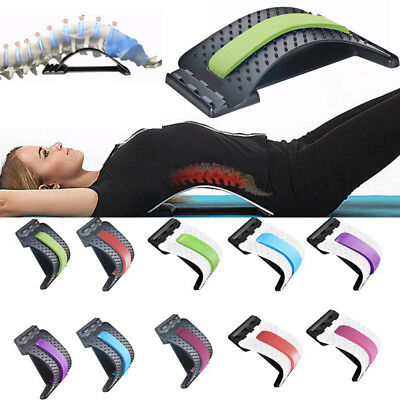 Magic Back Support Stretcher Extender Massager Trigger Point Pain Reliever GE