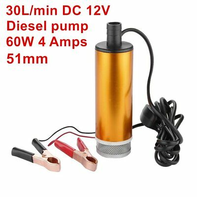 Diesel Fuel Pump DC 12V 60W 30L/min Transfer Pump Water Oil Fluid Refueling~aE