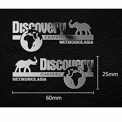 Car Badge Logo Discovery Metal Sticker for TRAXXAS TRX4 Ford Land Rover Defender