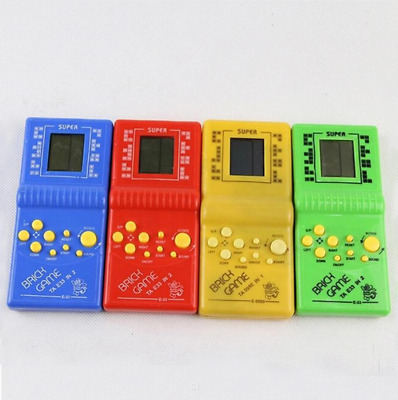 Classic Handheld Game Machine Tetris Brick Game Kids Game Machine with Game Musi